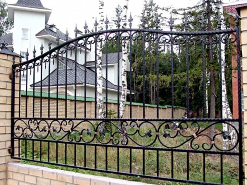 забор метал10