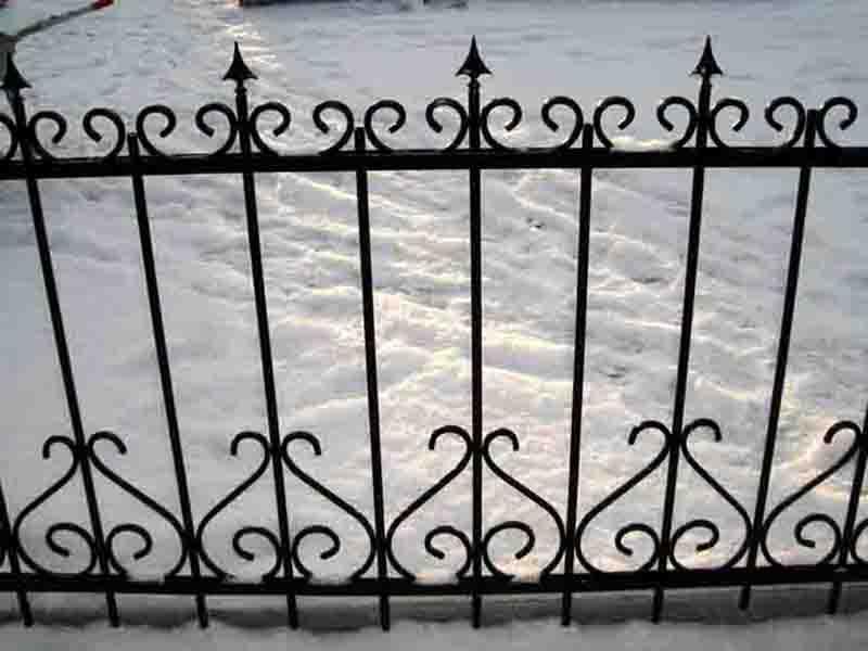 забор метал7