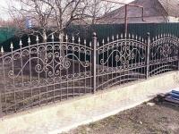 забор метал9